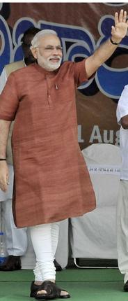 Modi In Hyderabad