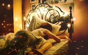 Bujji Sleeping